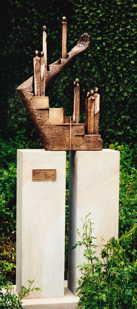 Skulptur - Aufstieg zum Erfolg